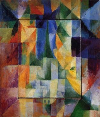 Robert Delaunay, Simultaneous Windows on the City, 1912